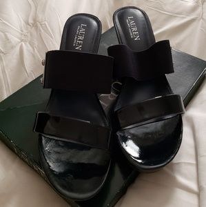 Beautiful NWT navy blue wedges 2/$20